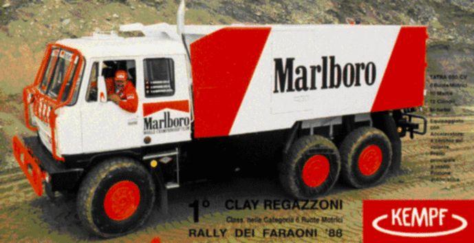Když hvězda Formule 1 Regazzoni osedlala speciál Tatra - Garáž.cz