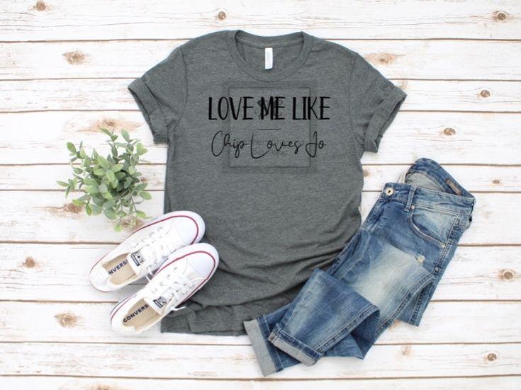 Download Love Me Like Chip Loves Jo Svg - Let's Roll USA America ...