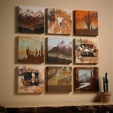 Western Canvas Wall Art