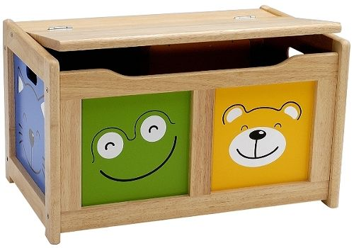 Another fantastic design is this Four Friends toy chest from John Lewis which has four fun animal faces beaming their friendly smiles from the front and sides.