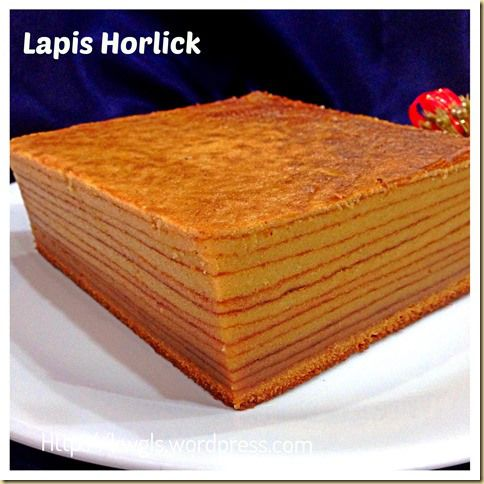 Lapis Horlicks - Serawak