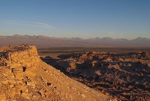 Mirador Cordillera de la sal, San Pedro de Atacama
