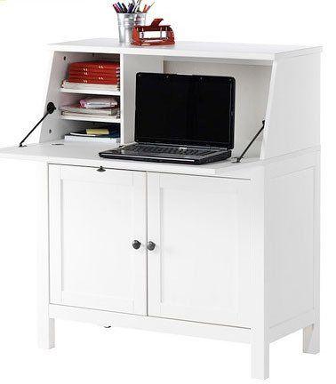 10 Modern Secretary Desks For Small Spaces Secretary Desks Hemnes Ikea Built In