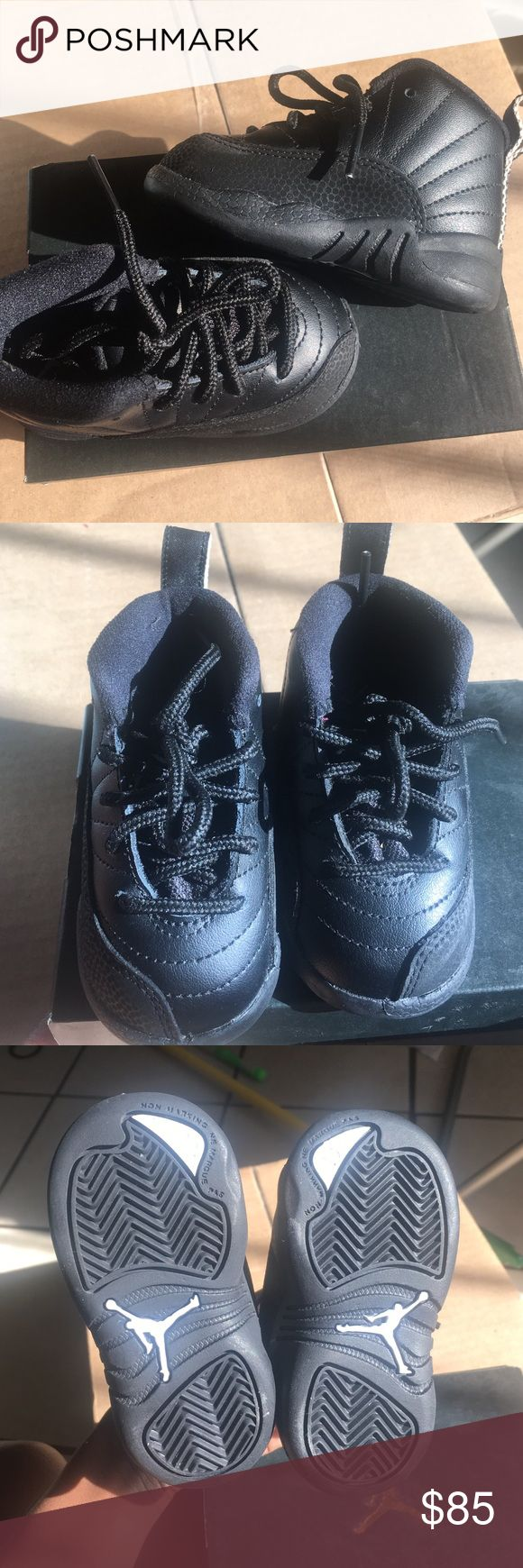 LIKE NEW!!! Toddler Jordan master 12s. Like New!!! Only worn 1 time. In perfect condition.🚫Trades ✅Offers Jordan Shoes Athletic Shoes