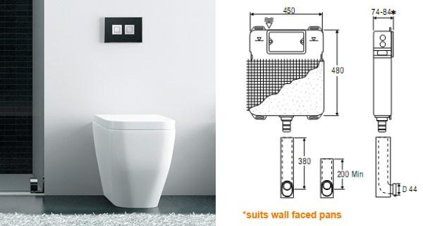 Wet Design - Valsir Design - Elegance and design in the bathroom. In-wall toilet cisterns and designer push plates.