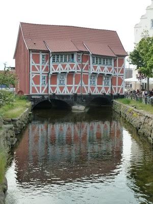 Wismar, Hanzestad in Noord Duitsland,