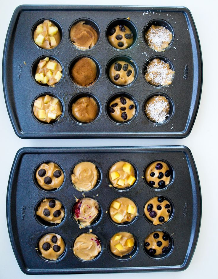 5-ingredient blender muffins-15 ways. A quick and easy healthy muffin recipe that's made with NO flour, NO oil, and NO sugar. Gluten free. Easy to make vegan. This recipe will change your life. :)