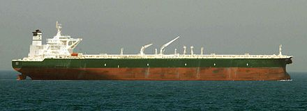Tankers are cargo ships for the transport of fluids, such as crude oil, petroleum products, liquefied petroleum gas (LPG), liquefied natural gas (LNG) and chemicals, also vegetable oils, wine and other food - the tanker sector comprises one third of the world tonnage. -   Supertanker AbQaiq - Wikipedia