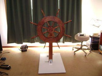 Ship S Helm Chevrolet Makati S Yacht Themed Party Cruise Ship