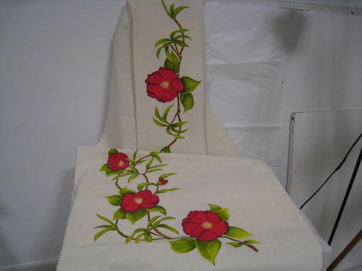 Best 499 pintura en tela manteles caminos de mesa for Manteles individuales de tela