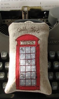 English phone booth - by Dear Emma Handmade Designs