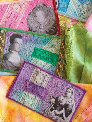 Fabric postcards by Cheryl Sleboda. Get tips and ideas for making these small quilt projects.