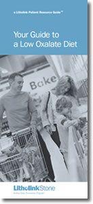 Litholink Corporation - Diet Information