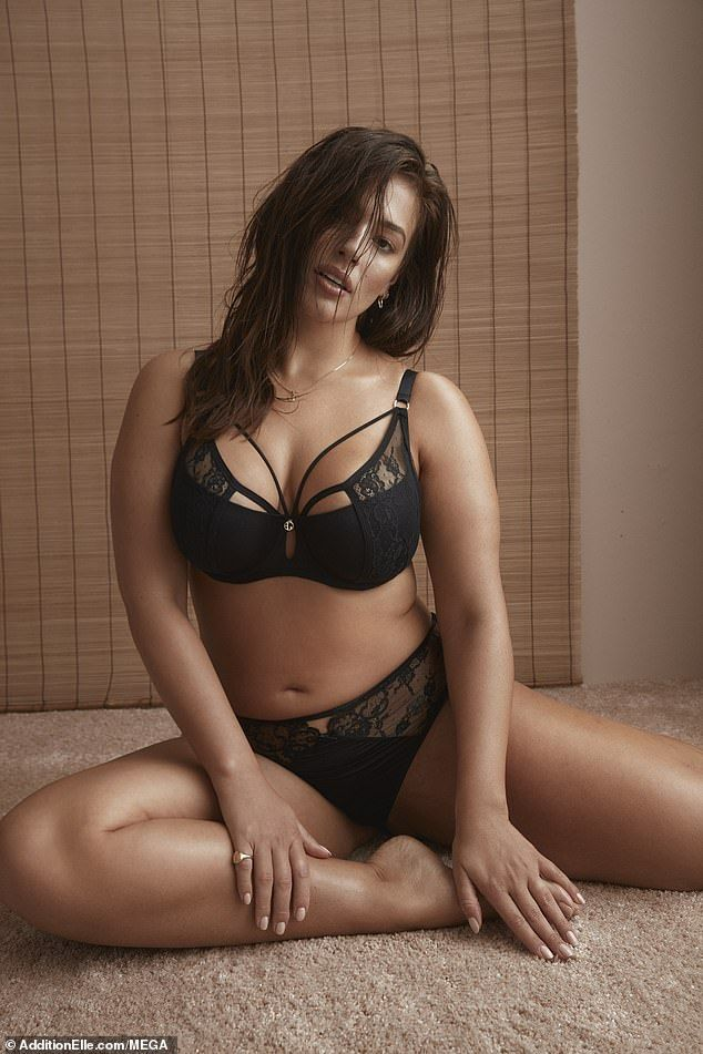fe2577e71 Ashley said   I love lingerie that s like me.. loud and proud and nothing  to hide .