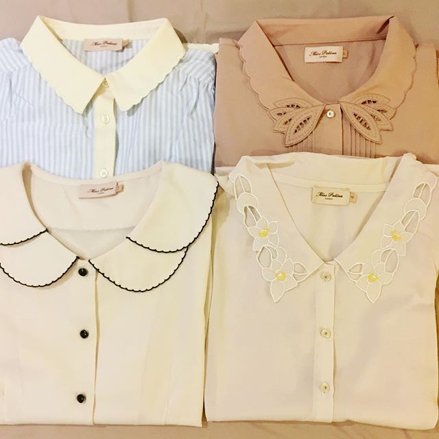 Some awesome collars from previous seasons we are thinking to bring them back. Which one do you like most ?#misspatina #collar #collarshirt