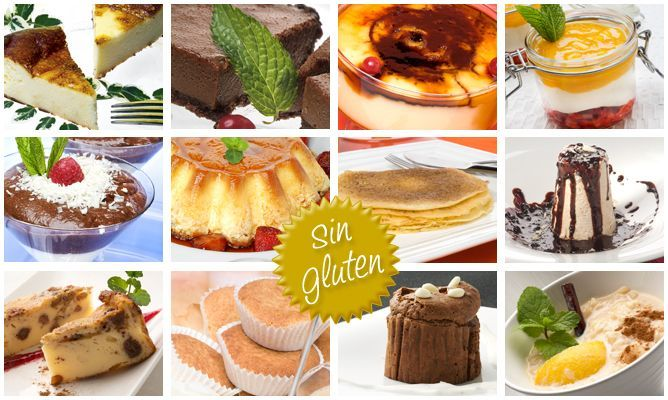 20 postres sin gluten para celíacos