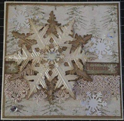 Så er sommeren over os og der er kun ½ år til juleaften  Det er bare så vildt :)  Her er mit julekort i Juni måned    Inden i     Lavet i f...
