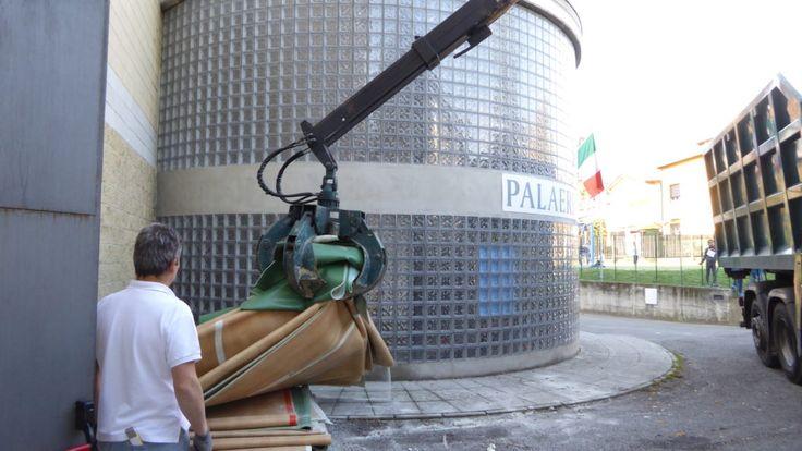 #pavimento #sportivo #parquet #dallariva #erba #italy #sostituzione #pvc