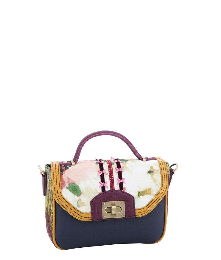 Spencer and Rutherford - quick_link - Cross Body Satchel - Norah - Ombre