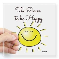 The Power To Be Happy Sticker