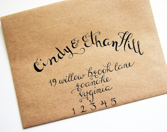 Best envelopes well mixed fonts images