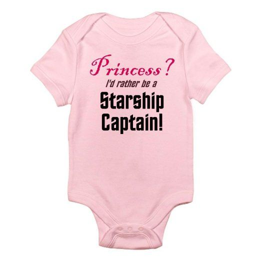 Starship Captain Star trek Infant Bodysuit