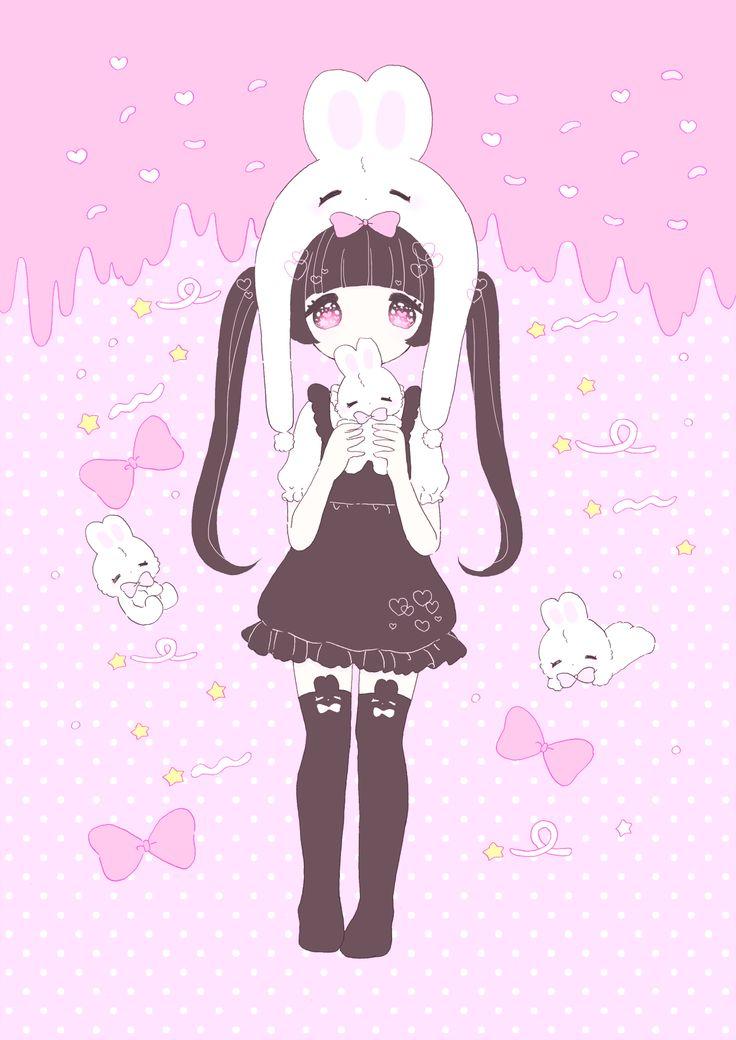 237 best kawaii images on pinterest kawaii kawaii - Girly girl anime ...