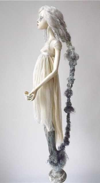Fantasy   Whimsical   Strange   Mythical   Creative   Creatures   Dolls   Sculptures   ☥  