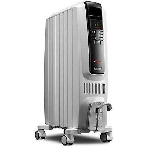 """DeLonghi EW7707CM Safe Heat 1500W ComforTemp Portable Oil-Filled Radiator Patented thermal """"chimney effect"""" quickly circulates warmed air throughout the room Produces maximum heat with a low surface temperature 20 percent to 40 percent energy savings with advanced Eco-Plus function https://homeandgarden.boutiquecloset.com/product/delonghi-ew7707cm-safe-heat-1500w-comfortemp-portable-oil-filled-radiator/"""