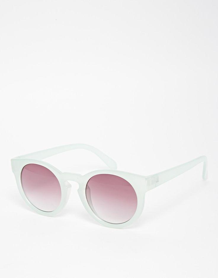 Pieces+June+Round+Sunglasses
