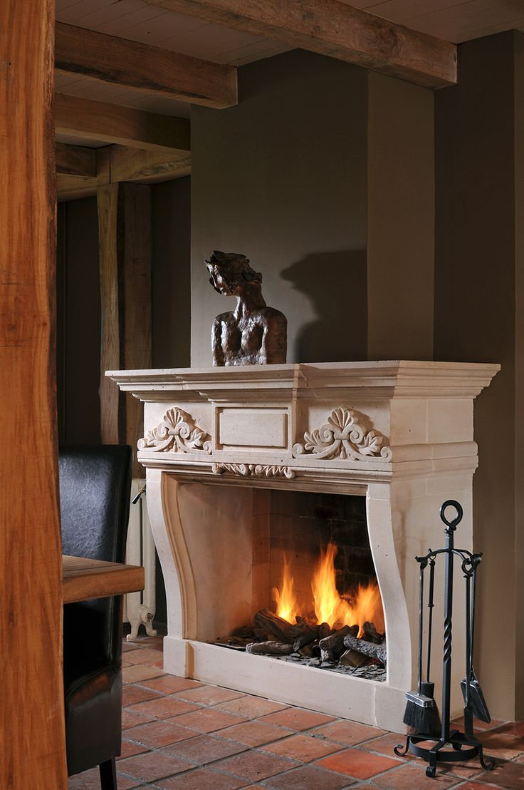 Fireplace portal with your own hands 41
