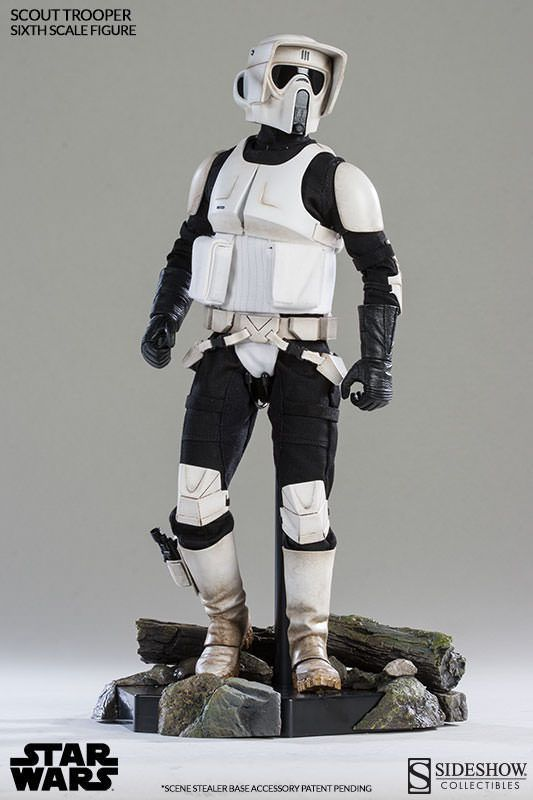 Sideshow 100103 1/6 Star Wars Scout Trooper Action Figure Model Toy   eBay