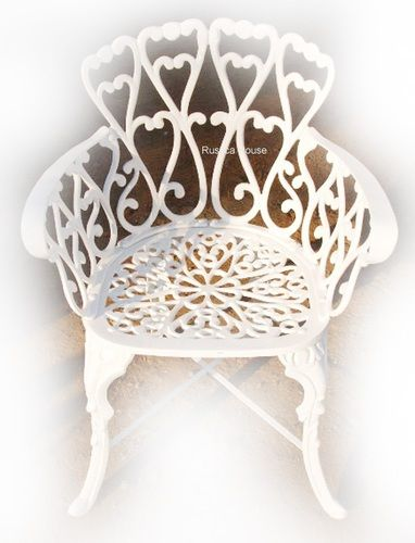 rustic garden chair traditional