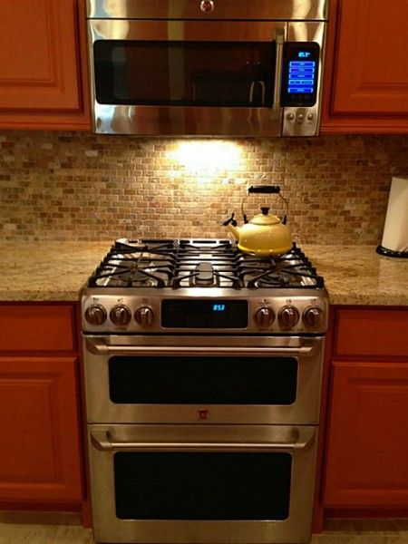 Ge Double Oven Gas Range 4