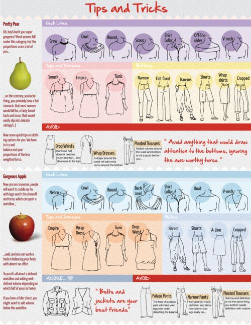 Tips and Tricks For Your Body Type