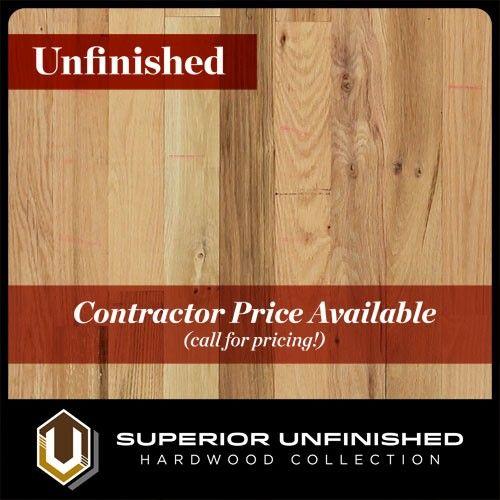 """2 1/4"""" x 3/4"""" Red Oak  #2 Common Unfinished Hardwood flooring"""