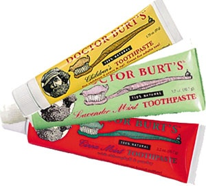 TO: Burt's Bees Toothpaste FROM: Crest Pro-Health. WHY: Crest contains problematic or banned chemicals in the EU that isn't an issue with Burt's Bees.  Burt's also doesn't do animal testing, while PG does.