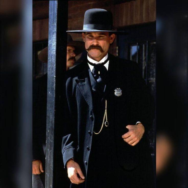 Kurt Russell as Wyat Earp- 1993