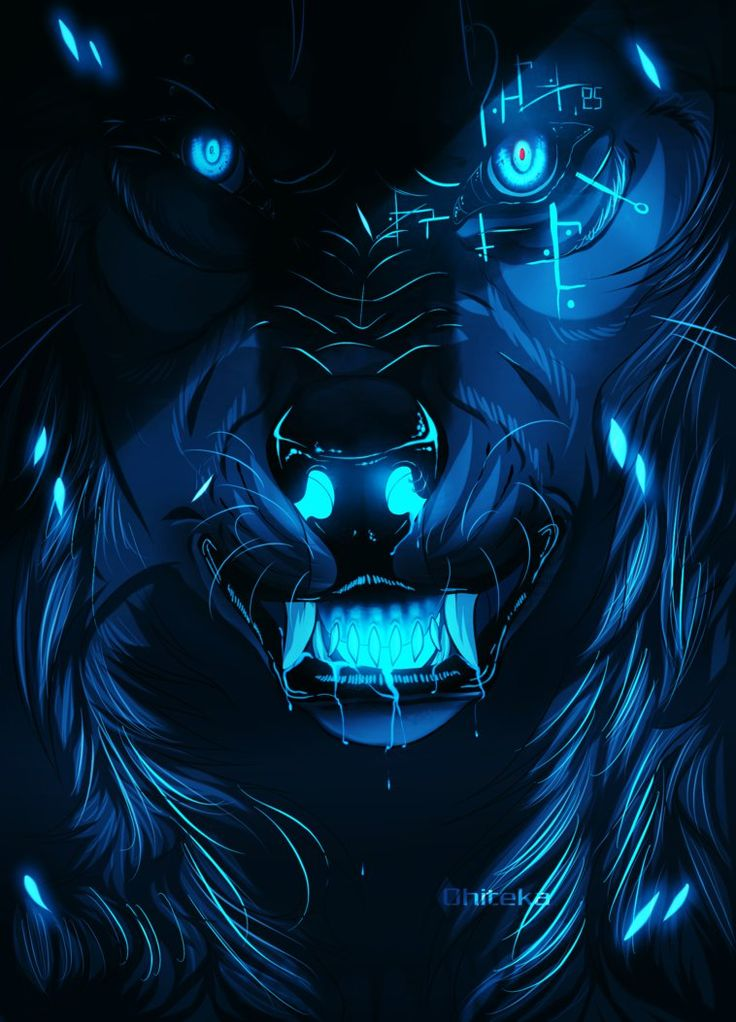 anime wolf images: 17 Best Images About Creepy Wolves Anime On Pinterest