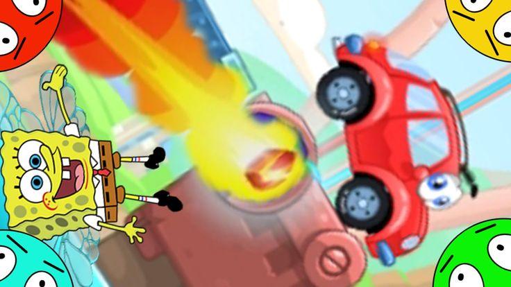 🐾 Машинка Вилли и Губка Боб #6! Метеоритный дождь! Мультик Игра. Wheely 5.