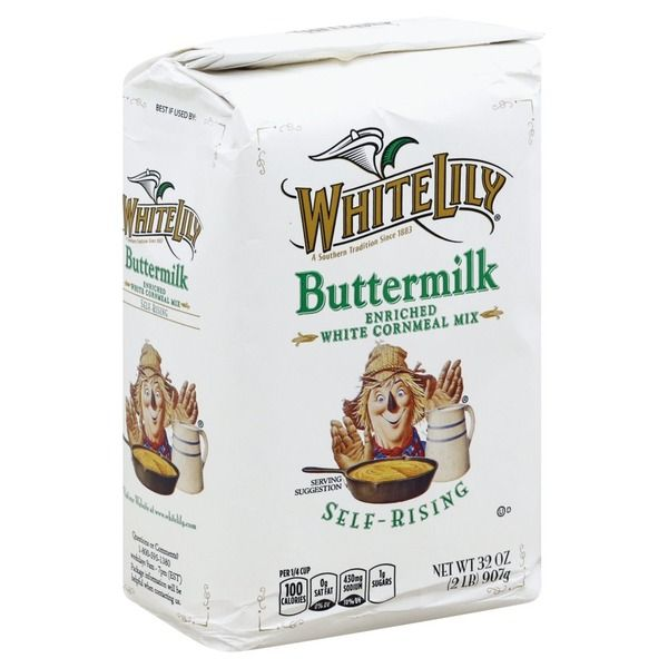 White Lily Cornmeal Mix Self Rising Enriched White Buttermilk 2 Oz Instacart In 2020 Corn Bread Recipe Cornbread Southern Cornbread Recipe