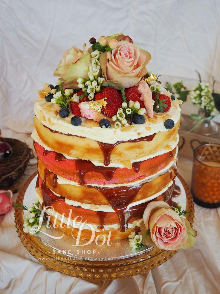 Little Dot Naked Cake