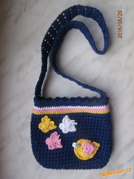Síťovaná kabelka pro malé slečny