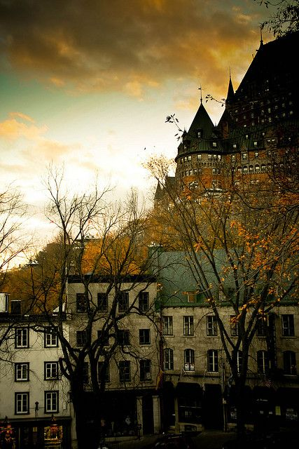 Québec is truly the dutiful daughter of its European motherland: a pristine green of pasture and towering forest, sprinkled with bronze church spires and picture perfect sidewalk cafés.
