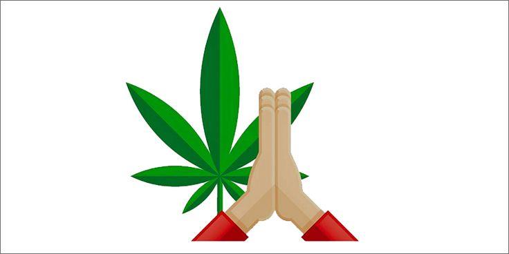 Image result for weed emoji