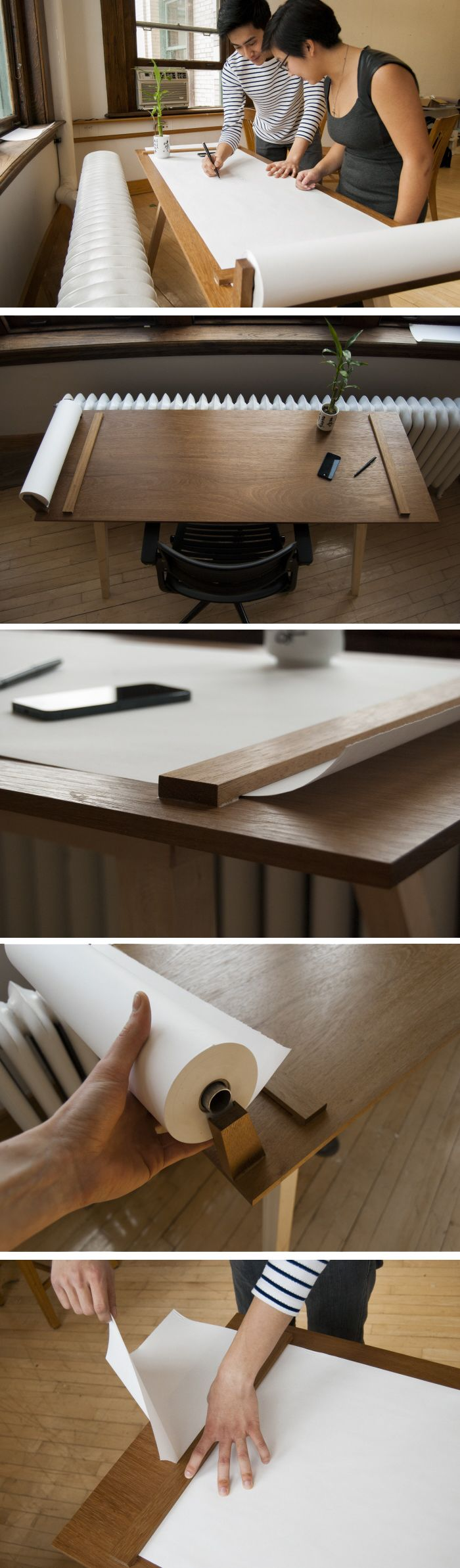 Collaboration Desk by Scott Alberstein  http://www.coroflot.com/salberst/Collaboration-Desk