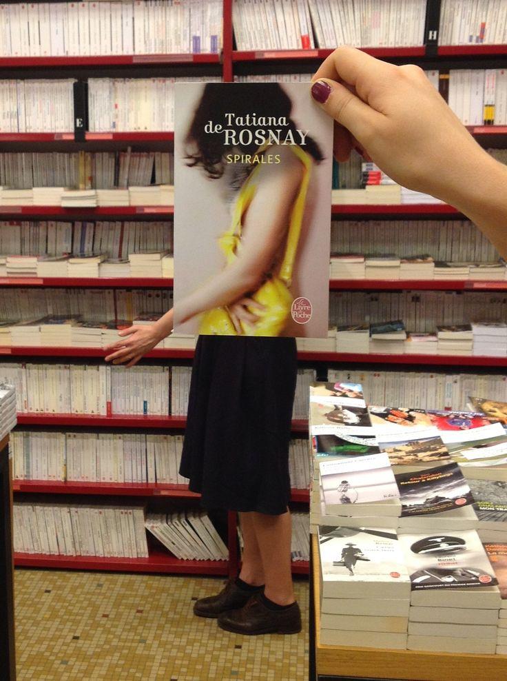 #deslibrairesavotreservice avec Tatiana de Rosnay, Spirales, éd. Le Livre de poche @L E Livre de Poche - Librairies Librairie Mollat Bordeaux #mollat #librairiemollat #librairie #livre #book
