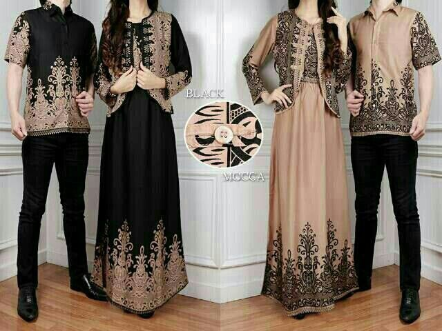 jual gamis couple batik murah 089677558000/2327eca1