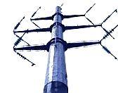 Опоры ЛЭП, стальные нормальные, многогранные, гнутые, железобетонные опоры ВЛ