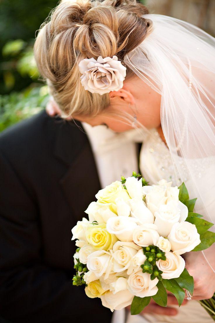 Bridal hair styling by Ami www.onebridalcompany.com